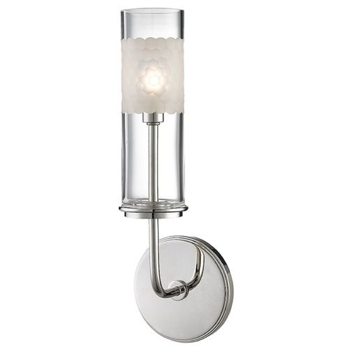 Hudson Valley Lighting Wentworth ADA 1 Light Sconce - Polished Nickel 3901-PN