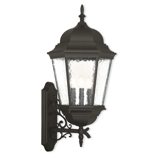 Livex Lighting Livex Lighting Hamilton Textured Black Outdoor Wall Light 75472-14