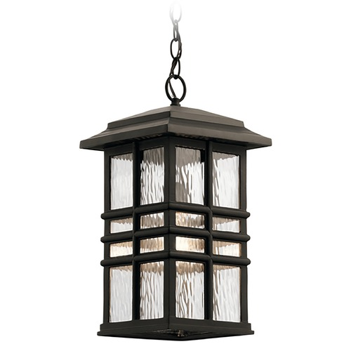 Kichler Lighting Kichler Lighting Beacon Square Olde Bronze Outdoor Hanging Light 49833OZ