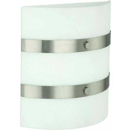 Lite Source Lighting Lite Source Lighting Patch Polished Steel Sconce LS-1641PS/FRO