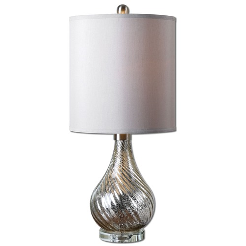 Uttermost Lighting Uttermost Girona Mercury Glass Table Lamp 29341-1