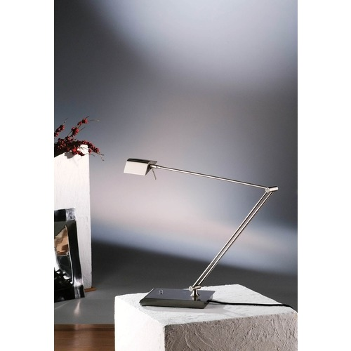 Holtkoetter Lighting Holtkoetter Lighting Bernie Series Satin Nickel Swing Arm Lamp 6469 SN