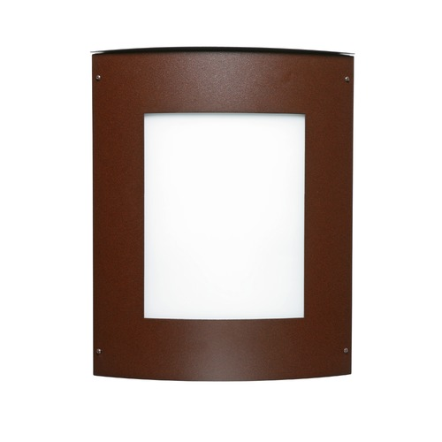 Besa Lighting Besa Lighting Moto Bronze Outdoor Wall Light 109-WA-BR