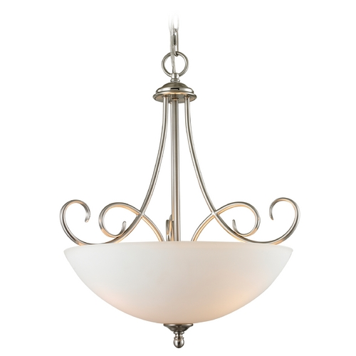 Cornerstone Lighting Cornerstone Lighting Chatham Brushed Nickel Pendant Light 1103PL/20