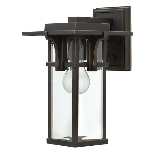 Hinkley Lighting Hinkley Lighting Manhattan Oil Rubbed Bronze Outdoor Wall Light 2320OZ