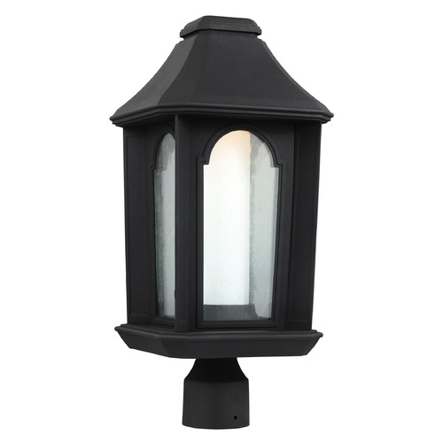 Feiss Lighting Feiss Lighting Ellerbee Textured Black LED Post Light OL11507TXB-LED