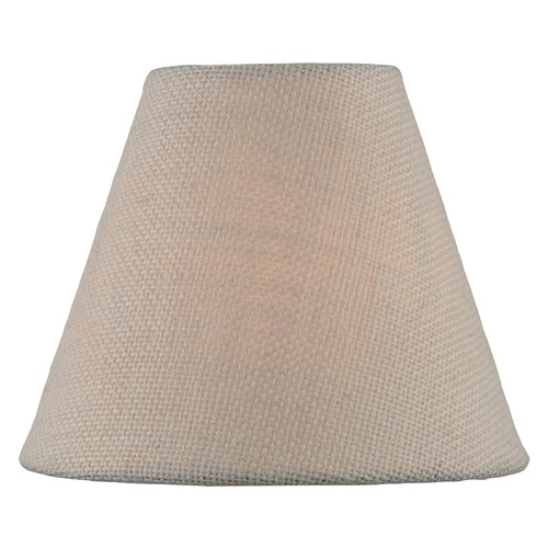 Lite Source Lighting Beige Coolie Lamp Shade with Clip-on Assembly CH5254-6