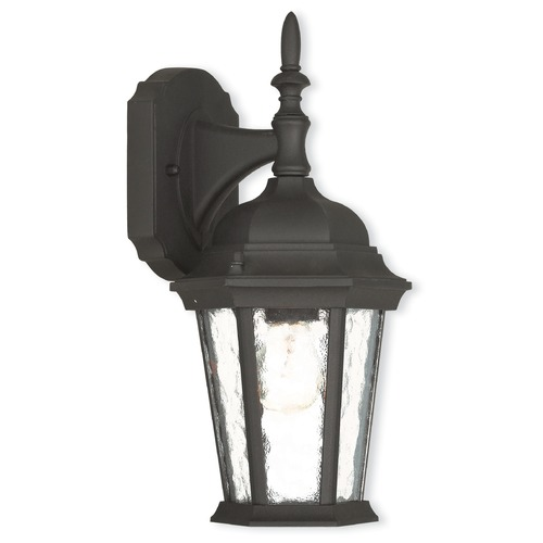 Livex Lighting Livex Lighting Hamilton Textured Black Outdoor Wall Light 75460-14