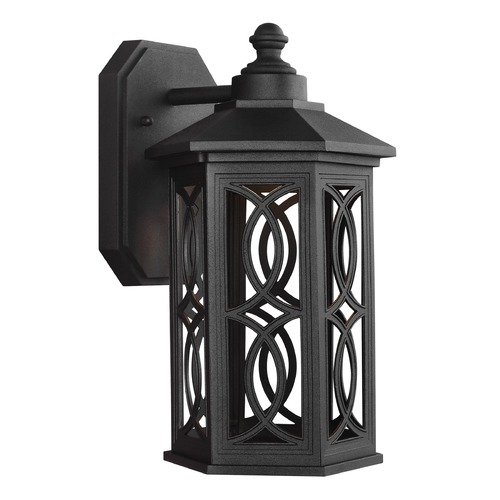 Sea Gull Lighting Sea Gull Lighting Ormsby Black LED Outdoor Wall Light 8517097S-12