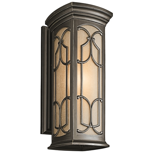 Kichler Lighting Kichler Outdoor Wall Light in Bronze Finish 49228OZ