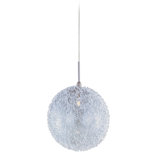 ET2 Lighting Modern Low Voltage Mini-Pendant Light with Clear Glass E94517-78SN