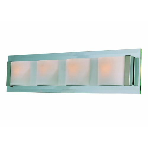 Lite Source Lighting Lite Source Lighting Garvin Polished Steel Bathroom Light LS-16794PS/FRO