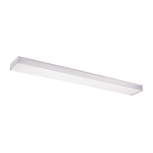 Sea Gull Lighting Modern Flushmount Light with White in White Finish 59132LE-15