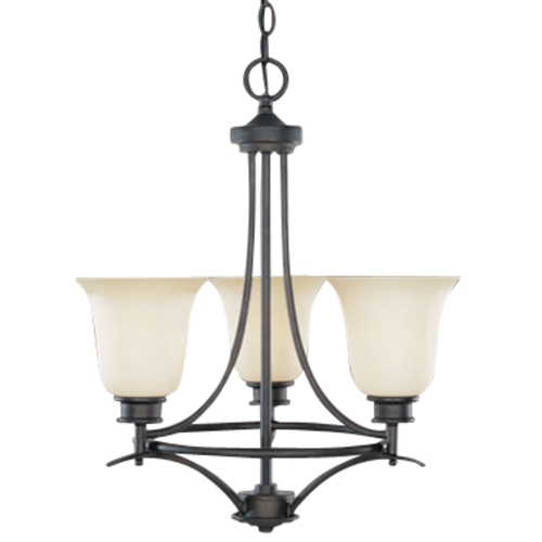 Designers Fountain Lighting Three-Light Chandelier 96983-ORB
