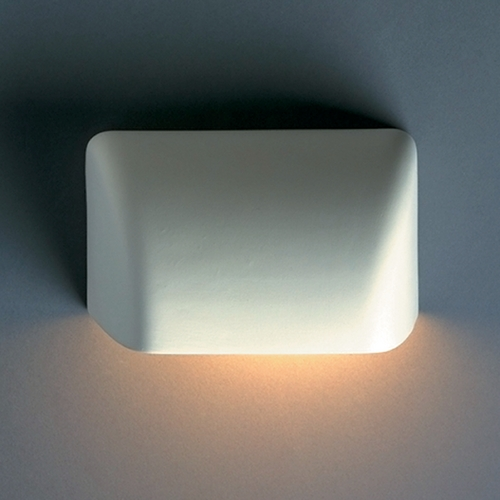 Justice Design Group Outdoor Wall Light in Bisque Finish CER-2900W-BIS