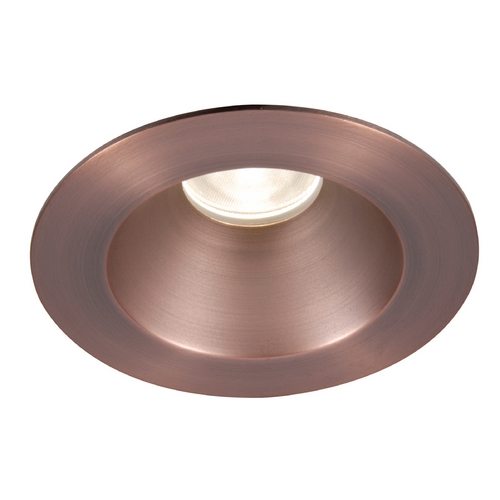 WAC Lighting Wac Lighting Copper Bronze LED Recessed Trim HR-3LED-T218N-W-CB