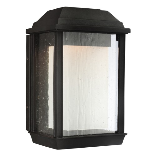 Feiss Lighting Feiss Lighting Mchenry Textured Black LED Outdoor Wall Light OL12800TXB-LED