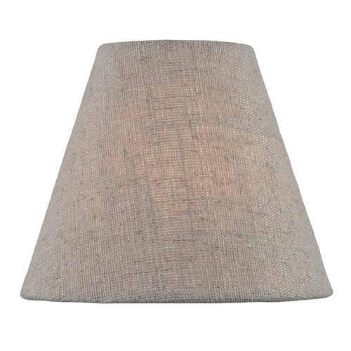 Lite Source Lighting Beige Coolie Lamp Shade with Clip-on Assembly CH5255-6