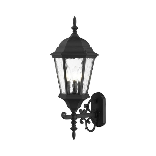 Livex Lighting Livex Lighting Hamilton Textured Black Outdoor Wall Light 75467-14