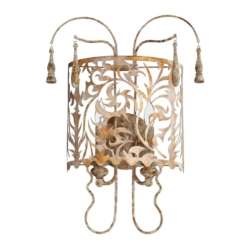 Quorum Lighting Quorum Lighting Leduc Florentine Gold Sconce 5355-2-61