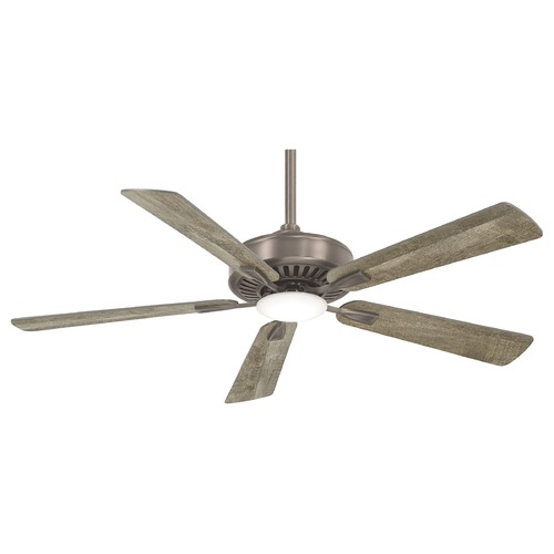 Minka Aire Minka Aire Burnished Nickel 52-Inch LED Ceiling Fan 3000K 896 LM F556L-BNK