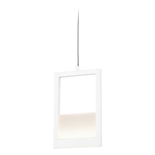 Kuzco Lighting Kuzco Lighting Ratio White LED Pendant Light PD31405-WH