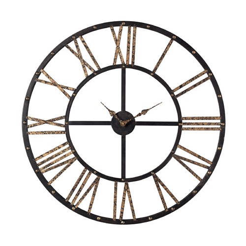 Sterling Lighting Sterling Lighting Mombaca Black / Gold Clock 129-1024