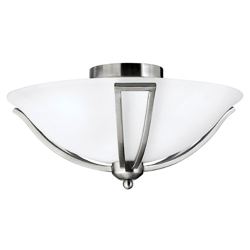 Hinkley Hinkley Bolla Brushed Nickel LED Flushmount Light 4660BN-LED