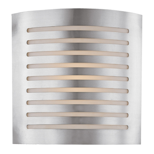 Access Lighting Access Lighting Krypton Brushed Steel Sconce C53340BSOPLEN1226B