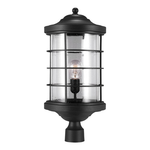 Sea Gull Lighting Sea Gull Lighting Sauganash Black Post Light 8224401-12