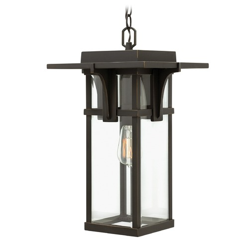 Hinkley Lighting Hinkley Lighting Manhattan Oil Rubbed Bronze Outdoor Hanging Light 2322OZ