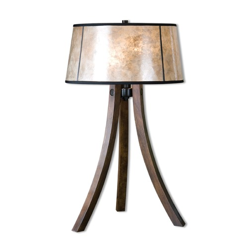 Uttermost Lighting Uttermost Maloy Wood Legs Table Lamp 26925-1