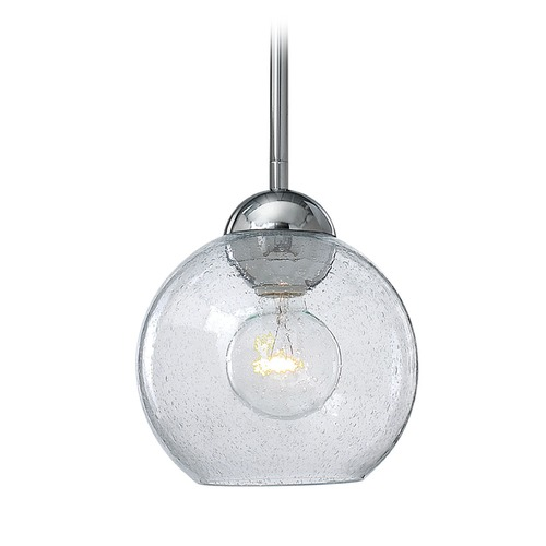 Frederick Ramond Frederick Ramond Vivo Polished Chrome Mini-Pendant Light with Globe Shade FR37506PCM