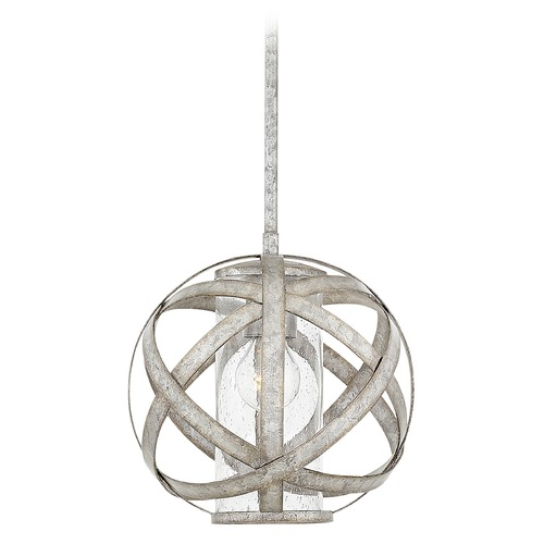 Hinkley Hinkley Carson 1-Light Weathered Zinc Outdoor Hanging Light 29707WZ