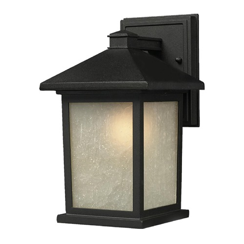 Z-Lite Z-Lite Holbrook Black Outdoor Wall Light 507S-BK