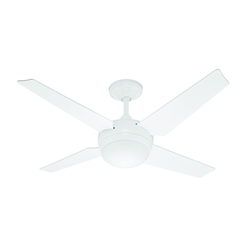 Hunter Fan Company Hunter Fan Company Sonic White Ceiling Fan with Light 59073