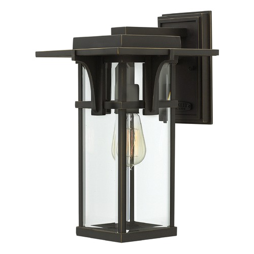 Hinkley Lighting Hinkley Lighting Manhattan Oil Rubbed Bronze Outdoor Wall Light 2324OZ