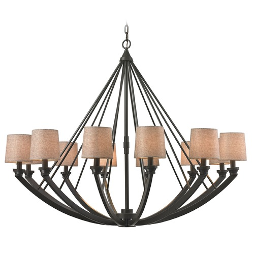 Elk Lighting Elk Lighting Morrison Oil Rubbed Bronze Chandelier 63075/12