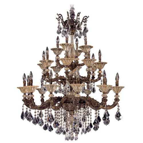 Allegri Lighting Mendelsshon 24 Light Crystal Chandelier 10499-004-FR001