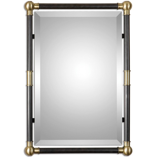 Uttermost Lighting Uttermost Rondure Bronze Metal Wall Mirror 01131