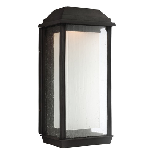 Feiss Lighting Feiss Lighting Mchenry Textured Black LED Outdoor Wall Light OL12802TXB-LED