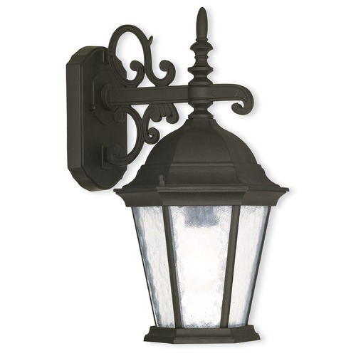 Livex Lighting Livex Lighting Hamilton Textured Black Outdoor Wall Light 75462-14