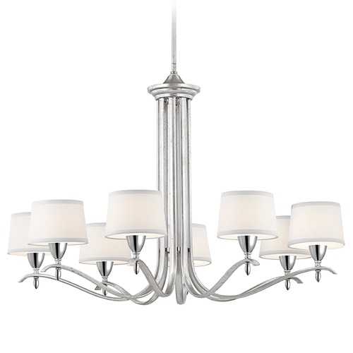 Kichler Lighting Kichler Lighting Cordova Silver Leaf Chandelier 43836SIL
