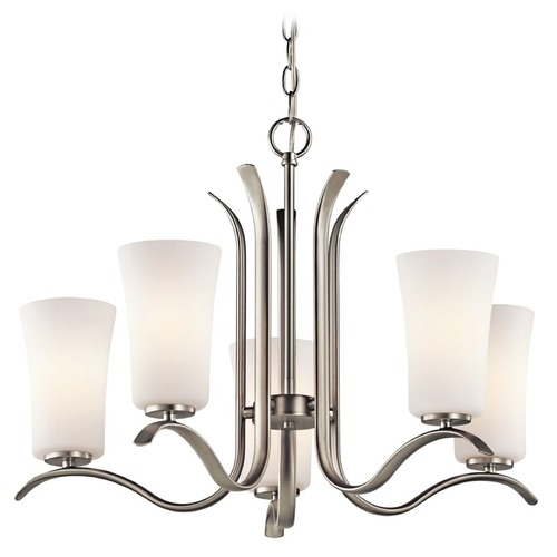 Kichler Lighting Kichler Armida 5-Light Chandelier in Brushed Nickel 43074NI