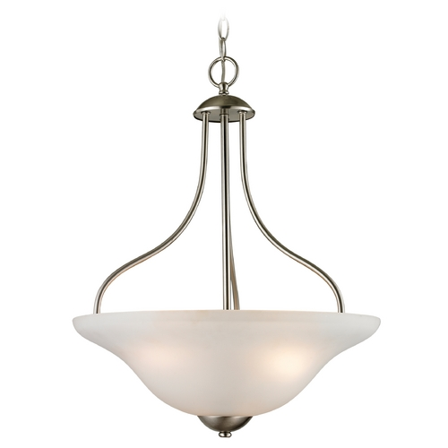 Cornerstone Lighting Cornerstone Lighting Conway Brushed Nickel Pendant Light 1203PL/20