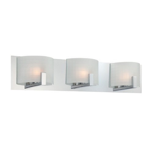 Lite Source Lighting Lite Source Waldron Chrome Bathroom Light LS-16363
