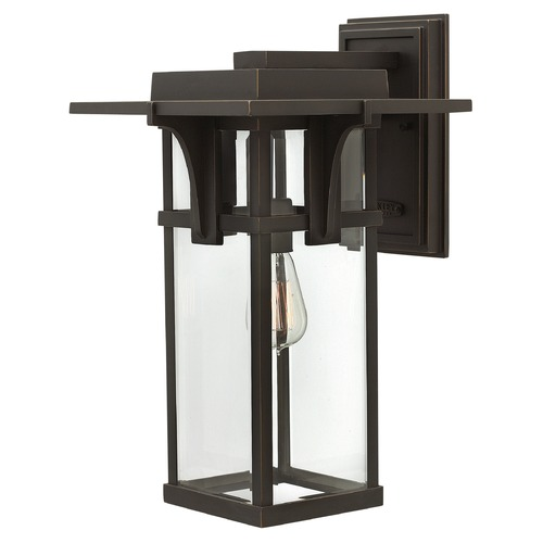 Hinkley Lighting Hinkley Lighting Manhattan Oil Rubbed Bronze Outdoor Wall Light 2325OZ
