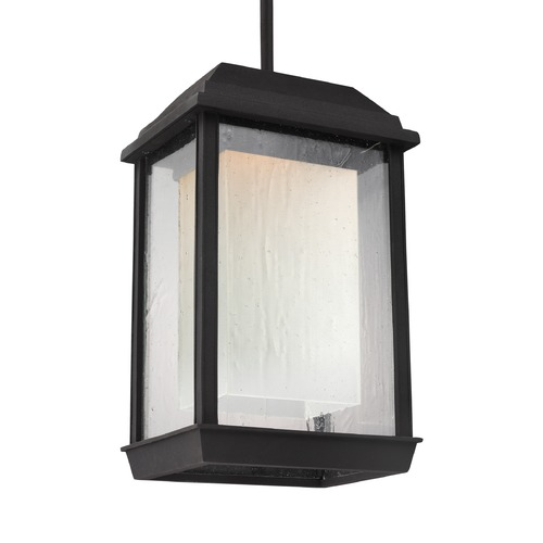 Feiss Lighting Feiss Lighting Mchenry Textured Black LED Outdoor Hanging Light OL12809TXB-LED