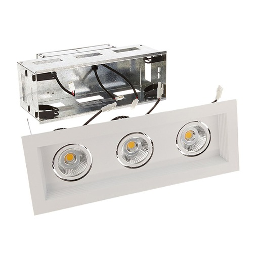WAC Lighting WAC Lighting Mini Multiples White LED Recessed Kit MT-3LD311R-F940-WT