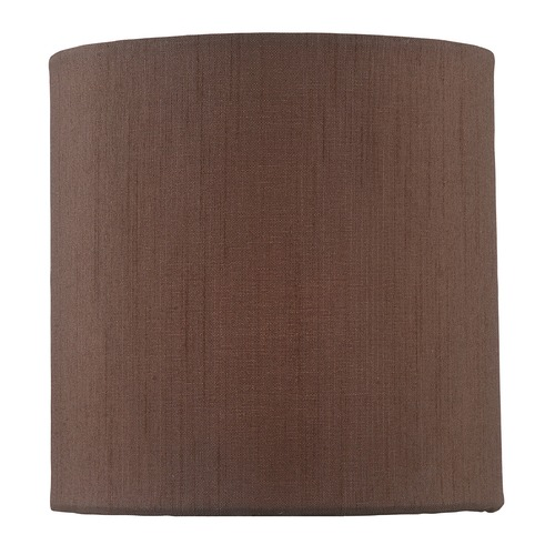Lite Source Lighting Coffee Cylindrical Lamp Shade with Spider Assembly CH5244-5